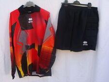 Completo maglia  + pantaloni pantaloncini portiere ERREA Taglia XXL    Affare!!