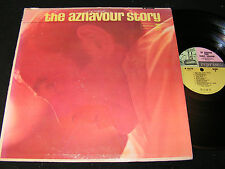 CHARLES AZNAVOUR The Aznavour Story / 60s US Mono LP REPRISE 6172