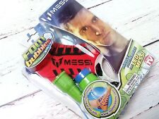 NEW AS SEEN ON TV SOCCER LEO MESSI FOOT BUBBLES FUN KIT
