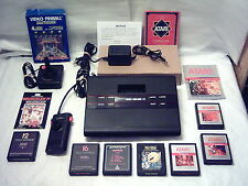 1983 Sears Video Arcade II 2 Console System LOT + 8 Games PAC-MAN (Atari 2800)