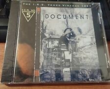 R.E.M. - DOCUMENT - CD SIGILLATO (SEALED)