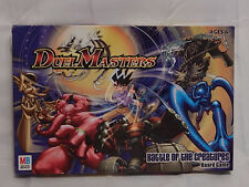 Milton Bradley Duel Masters Battle of the Creatures Board Game 100% Complete
