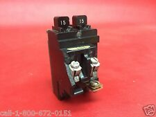 15A ITE Pushmatic P1515 15 AMP Twin Duplex Space Saver BREAKER Chipped