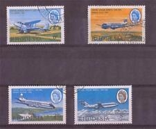 RHODESIA,  1966, CAA,  SG 393-96, FINE USED  SET