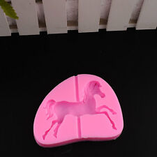 Carousel Horse Silicone Fondant Mould Cake Decor Soap Biscuit Mold Tool