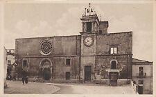 # SULMONA: CHIESA DI S. MARIA DELLA TOMBA - FRONTE