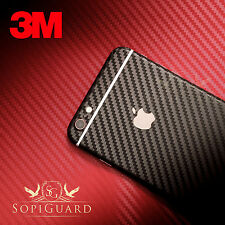SopiGuard 3M 1080 Carbon Fiber Vinyl Skin Full Body for Apple iPhone 6S Plus 5.5