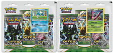 Pokemon Factory Sealed Flygon-Vivillon Blister Pack with 6 Random Booster Packs