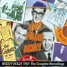 Not Fade Away: 1957 - The Complete Recordings by Buddy Holly (CD, Feb-2008, 3...