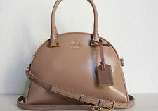 NWT KATE SPADE Cedar Street Small Pearl Patent Leather Satchel Bag - Rose Water