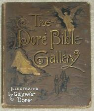 DORE BIBLE GALLERY ~ PRINTED LATE 1800'S HC ~ PROFUSELY ILLUSTRATED