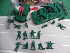 TANK vs HUMVEE army men playset toy billy v BILL 9