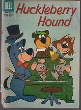 HUCKLEBERRY HOUND #8 DELL 1960 YOGI BEAR & BOOBOO + PIXIE DIXIE & MR. JINKS GD+