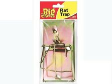 THE BIG CHEESE   Traditional style Metal Rat Trap