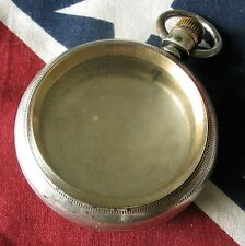 Antique Waltham Coin Silver 18 size Swing-out Pocket Watch Case