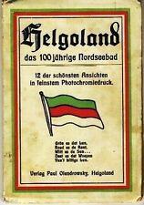 Ansichtskarten-Album Helgoland 12 Stück als Leporello um 1927 Schleswig-Holstein