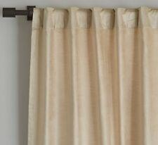 """Luster Velvet Curtain 48""""x96"""" in Stone from West Elm/Pottery Barn"""