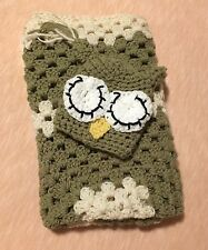 Taupe And Cream Sleepy Owl Hat With Matching Blanket Size Newborn-3 Months