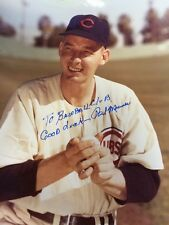 Paul Minner Auto 8x10 Color Photo Pitcher Brooklyn Dodgers Chicago Cubs