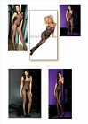 Fishnet Lace Crochet BODYSTOCKINGS 8 Styles BNWT Quality Lingerie Dance wear
