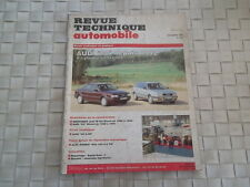 REVUE TECHNIQUE AUDI 80 ESSENCE BERLINE et BREAK