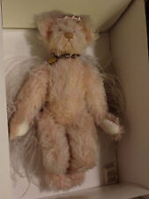Annette Funicello Faith Angel Mohair Bear Mint! Never displayed #831 of 20,000!