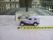 1932 Ford Panel Delivery Bank w/Key Ertl  Die-Cast 1/25 Scale 1992
