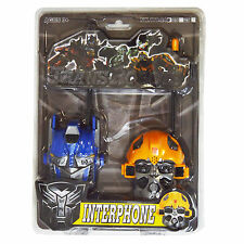 Enfants talkie walkie transformers optimus prime et bumblebee batterie jouet