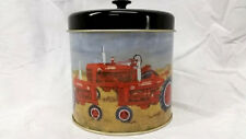 Farmall Tin Canister With Lid