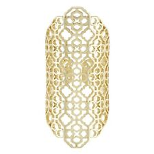 Kendra Scott Boone Gold Plated Bold Filigree Ring - One Size