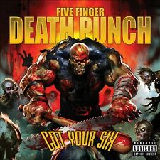 FIVE FINGER DEATH PUNCH-GOT YOUR SIX  CD NEW