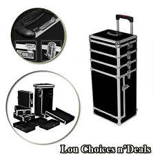 Makeup Travel Case Box Professional Cosmetic Large Trolley Storage Beauty Carry