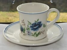 Royal Albert Country Garden Meadow Song Pattern Coffee Cup and Saucer