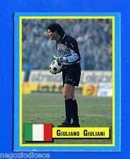 TOP MICRO CARDS - Vallardi 1989 - Figurina-Sticker - GIULIANI - NAPOLI