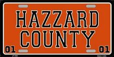 Hazzard County Metal Novelty License Plate Dukes Of Hazard Tag