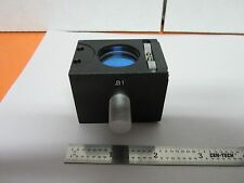 MICROSCOPE NIKON CUBE B1 OBJECTIVE PART  DIC WITH OPTICS NOMARSKI BIN#B1-R-10