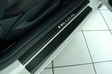 Carbon Chrome Style door sill protectors Seat Ibiza 6J1 Carbon Film