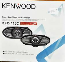 "Kenwood KFC-415C 4""x10"" 2 WAY 320 W  Speakers"