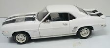1/18 1969 Camaro Z28, a displayed piece, no box, the door mirror is bent,