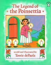The Legend of the Poinsettia by Tomie dePaola (1997, Paperback)