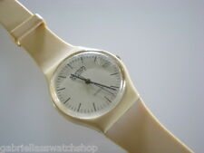 GT403! Collectible 1983 Cream Swatch with 7 HOLE BAND & DATE-RARE DUMMY!