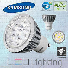 Samsung 3.3w = 20w GU10 LED 40D Spot Light Bulb/Lamp WARM WHITE 2700k