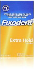 Fixodent Denture Adhesive Powder Extra Hold - 1.6 Oz