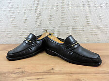 Church's Mens Black Leather Horsebit Loafers Penny Moccasins UK 6.5 US 7.5 40.5