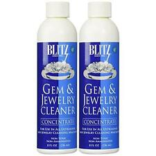 Blitz Gem & Jewelry Cleaner Concentrate (8 Oz) - Pack Of Two New