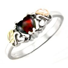 Landstrom's® Black Hills Gold Sterling Silver Ring with Opal Size 6.5