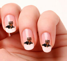 20 Nail Art Stickers Transfers Decals #594 - yorkshire Terrier Just peel & stick