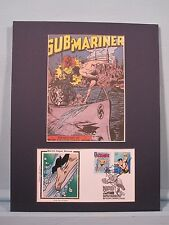 Marvel Comics Hero The Sub-Mariner & First Day Cover
