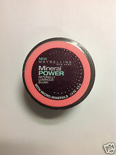 Maybelline Mineral Power Naturally Luminous Blush (ORIGINAL ROSE) NEW.