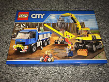 LEGO 60075 CITY EXCAVATOR AND TRUCK SET FACTORY SEALED - MISB - ITEM 6100268